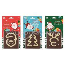 Jeux d'adresse en chocolat au lait 50g - les 12 en stock