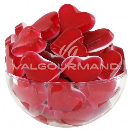 Coeurs Red Love HARIBO - 1kg