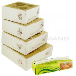 Boîtes pâtissières automne assorties - 200 pièces + 1 distrimouss OFFERT en stock