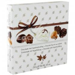 Assortiment Automne chocolats fourrés praliné - 250g en stock