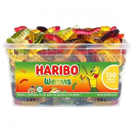 Worms HARIBO - tubo de 150