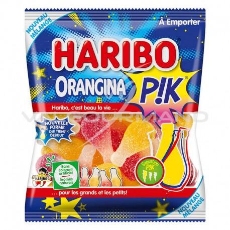 Bouteilles Orangina pik HARIBO 120g - 30 sachets (0.99€ le sachet !)
