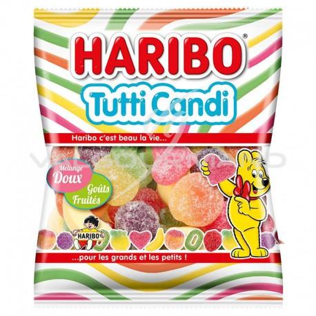 Tutti candi HARIBO 100g - 30 sachets (0.99€ le sachet !)