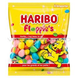 Floppies HARIBO 120g - 30 sachets en stock