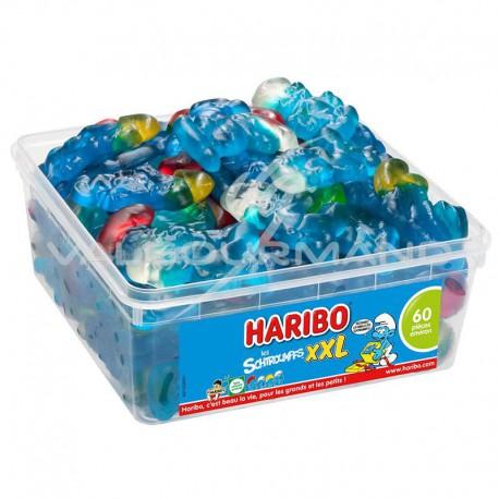 Schtroumpfs XXL HARIBO - tubo de 60