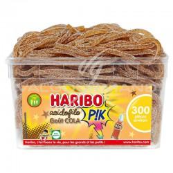 Acidofilo cola pik HARIBO - tubo de 300 en stock