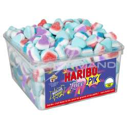 Love pik HARIBO - tubo de 150