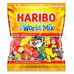 World mix HARIBO 120g - 30 sachets (0.99€ le sachet !)