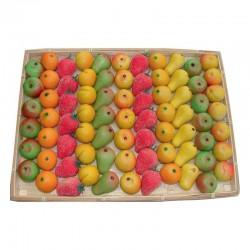 Pâtes d amandes - plateau de 1,9kg (76 pièces) en stock