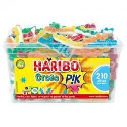 Croco pik HARIBO - tubo de 210 en stock