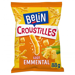 Croustille emmental Belin 88g - 24 paquets (soit 1.19€ pièce !)