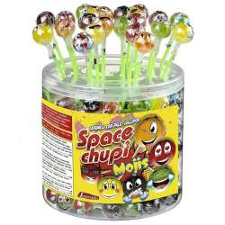 Sucettes space chupi emoticones - tubo de 150 en stock