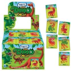 Dino jelly - bestioles gélifiées - boîte de 66 en stock