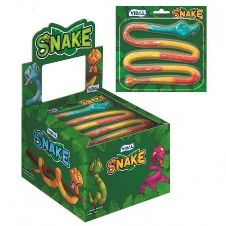 Snake jelly - serpents gélifiés Vidal - boîte de 11