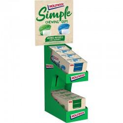Hollywood Simple menthe - 32 étuis assortis (soit 0.99€ pièce) en stock