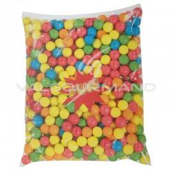 Billes de chewing gum grande taille 20mm - 2,5kg (soit 3.58€ le kg !)
