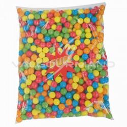 Billes de chewing gum taille moyenne 17mm - 2,5kg (soit 3.58€ le kg !)