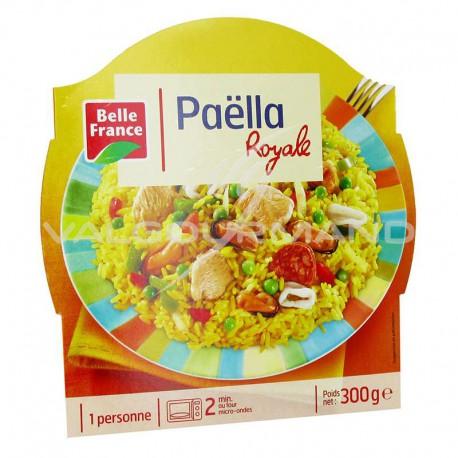 Barquettes paella royale 300g Belle France - lot de 8 plats cuisinés