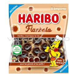 Flans caramel Flanbolo HARIBO 100g - 30 sachets