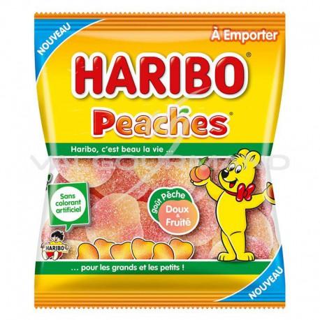Peaches HARIBO 120g - 30 sachets (0.99€ le sachet !)