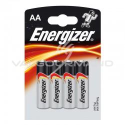 Piles Energizer LR06 blister de 4 - le lot de 24 (soit 2.20€ pièce !) en stock