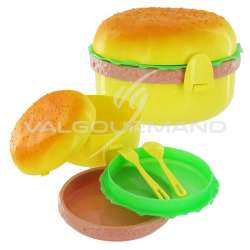 Lunch box Hamburger - pièce en stock