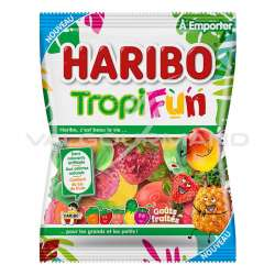 Tropifun HARIBO 100g - 30 sachets en stock