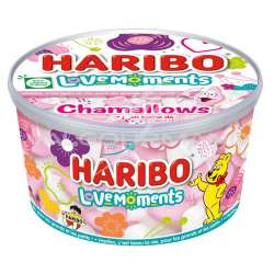 Chamallows coeurs Love Moments HARIBO - tubo de 350g en stock