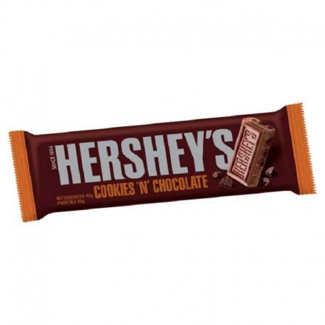 Cookies n Chocolate bar 40g Hersheys - boite de 24