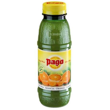 Pago orange 100% jus abc Pet 33cl - 12 bouteilles