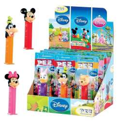 Pez figurines Mickey + 1 recharge - le lot de 12 en stock