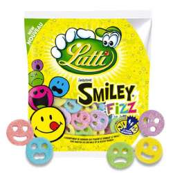 ~Smiley fizz Lutti 90g - 12 sachets