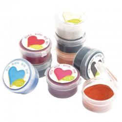 Colorants alimentaires en poudre Scrapcooking 9 COLORIS en stock