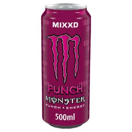 Monster Punch MIXXD 50cl - 12 canettes