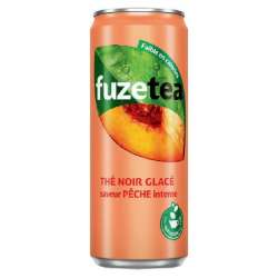 Fuze Tea Pêche intense 33cl - 24 canettes