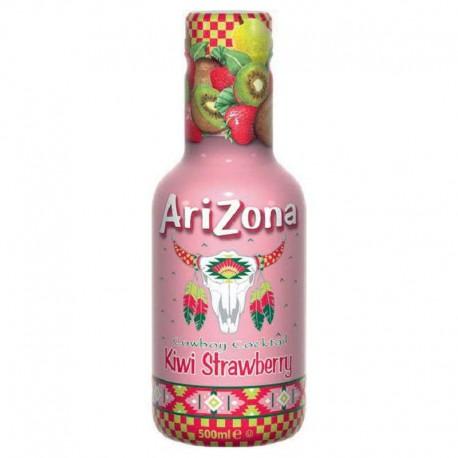 Arizona cowboy Kiwi Fraise Pet 50cl - 6 bouteilles