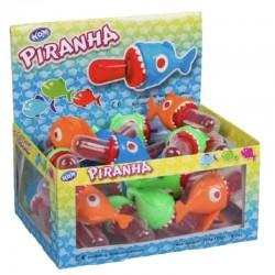 Sucettes Piranhas - boite de 24 en stock