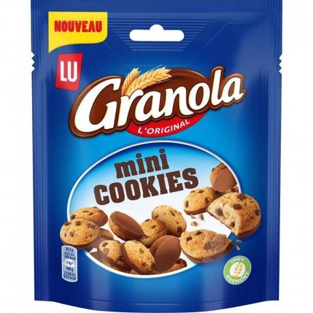 Granola mini cookies 110g - carton de 8 sachets