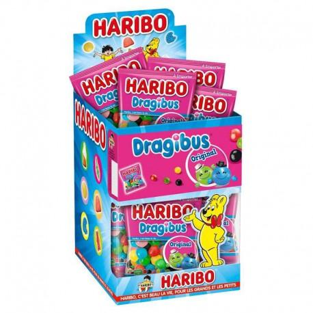 Dragibus HARIBO 40g - 30 sachets