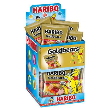 Ours d'Or Goldbears HARIBO 40g - 30 sachets