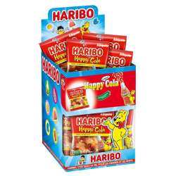 Bouteilles Happy cola HARIBO 40g - 30 sachets