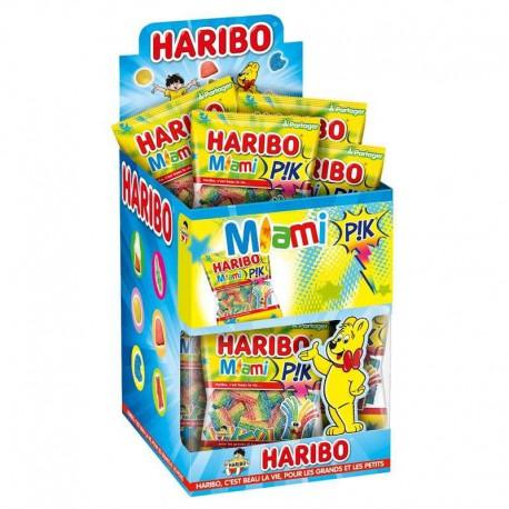 Miami Pik mini HARIBO 40g - 30 sachets