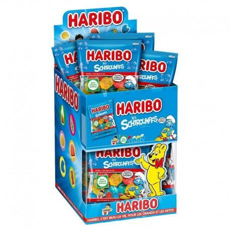 Schtroumpfs lisses HARIBO 40g - 30 sachets