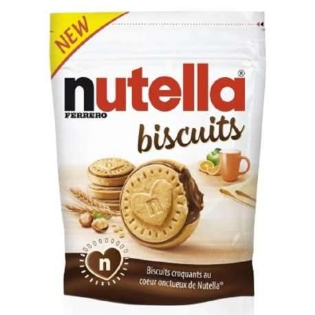 Nutella Biscuits fourrés choco - sachet de 304g