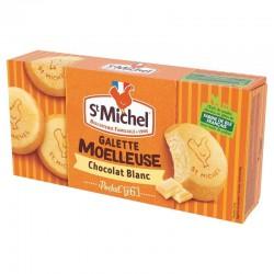 Galettes moelleuses Chocolat Blanc St Michel 180g - 8 paquets en stock