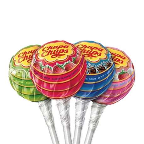 Sucettes best of Chupa Chups - tubo de 150