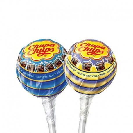 Sucettes fresh cola Chupa Chups - tubo de 150