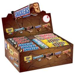 Assortiment TOP5 - 53 barres chocolatées assorties