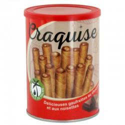 Gaufrettes Craquise chocolat et noisettes - 400g en stock