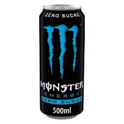 Monster Absolutely zero 50cl - 12 canettes